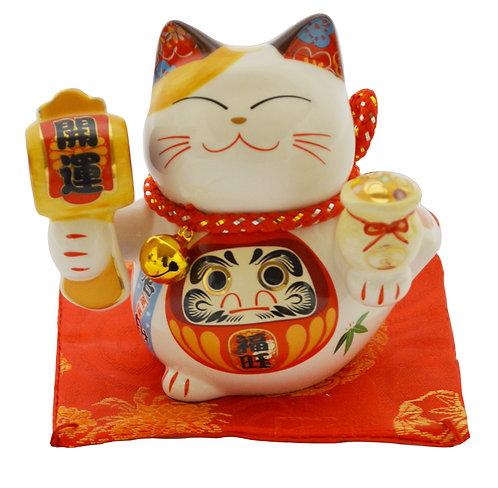 "#808412 LUCKY CAT(PIGGY BANK)-3"" (35313) 招財貓錢罐(1 PCS)"