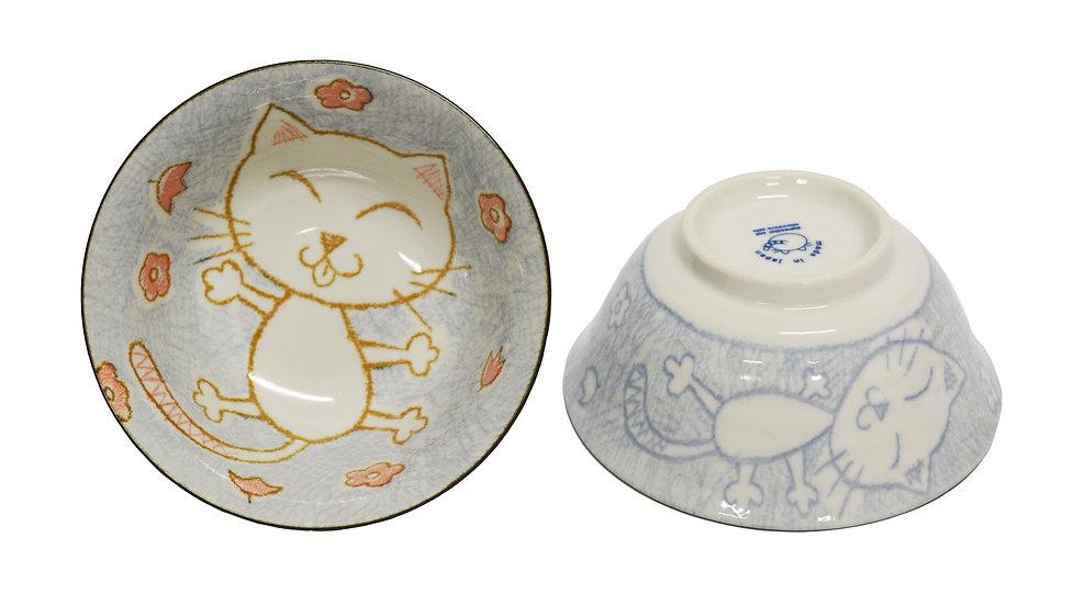 "6"" JAPANESE RICE BOWL,ITEM#AF-015,日本瓷碗(4 PCS)"