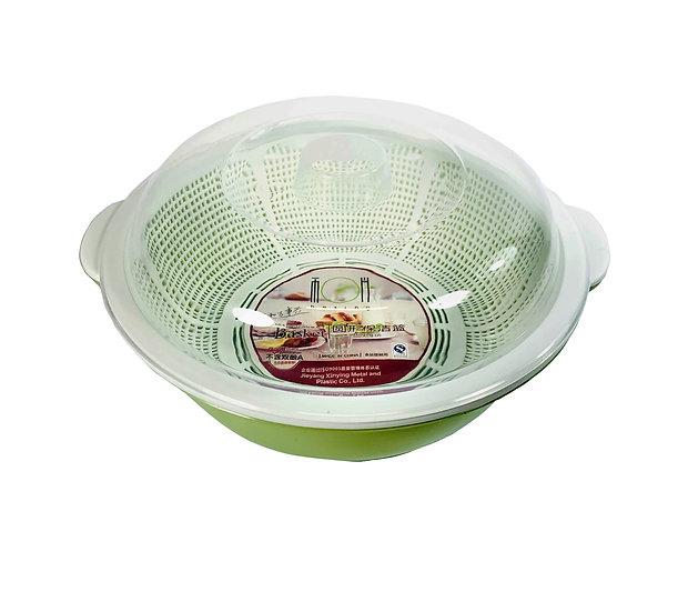 COLANDER /STRAINER / BASIN WITH LID - 32 CM,  ITEM# 00803261,  三層洗菜籃