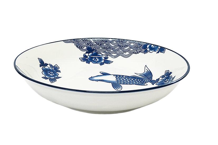 "10""  DEEP PLATE,ITEM#00802914,日常深盤-魚(3 PCS)"