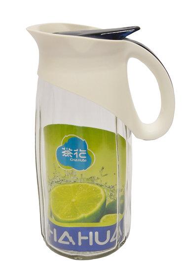 CHAHUA GLASS WATER PITCHER,#0080546,玻璃水瓶