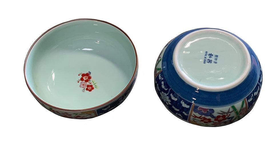 JAPANESE HACHI BOWL, 2 PCS, ITEM#AC-009, 日本瓷碗/磁碟 2 個