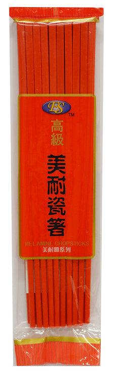 #801832 RED MELAMINE CHOPSTICKS- 10 PAIRS  紅色ao3美耐瓷筷