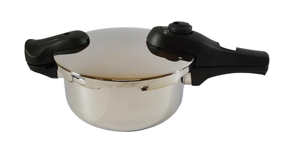 ES STAINLESS STEEL PRESSURE COOKER 3.8L,  ITEM#  00809070,  不銹鋼壓力鍋