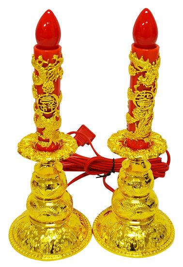 JOSS ELECTRIC CANDLE SET, ITEM#00804143,電龍鳳燭