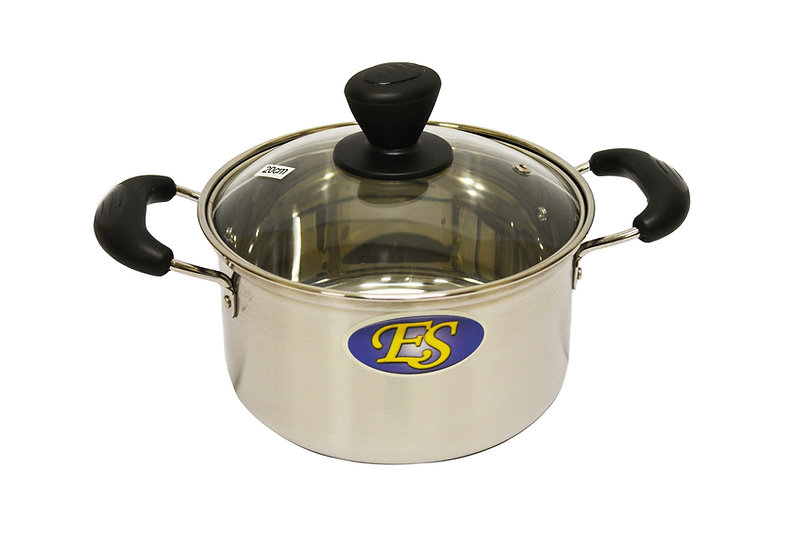 20 CM STAINLESS STEEL COOKING POT,  ITEM#00800166, 不銹鋼湯鍋