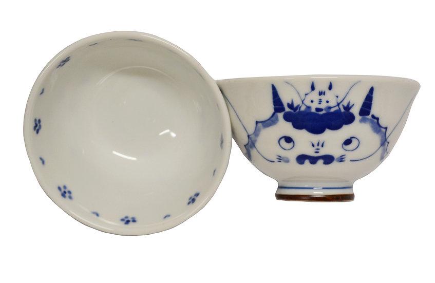 JAPANESE ETO RICE  BOWL,ITEM#AG-005,日本瓷碗 (4 PCS)