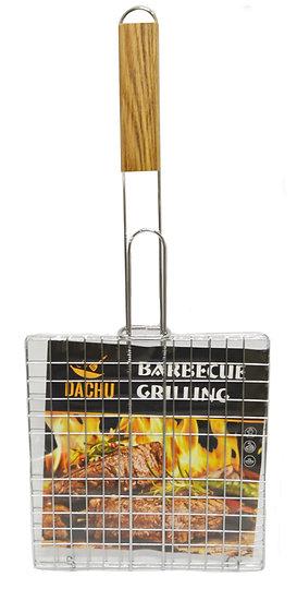 BBQ GRILLING RACK-22*22 CM, 2 PIECES, ITEM# 801643,木柄燒烤網 2 個