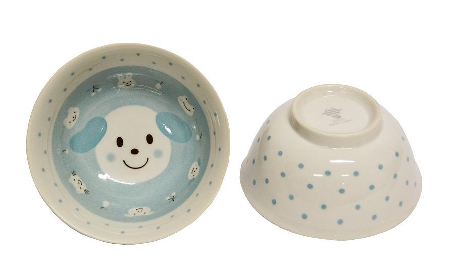 """6"""" JAPANESE DONBURI BOWL,ITEM# AG-026, 日本瓷碗(5 PCS)"""