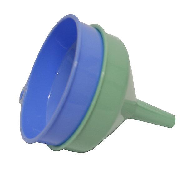 PLASTIC FUNNEL 12CM , SET OF 2    塑膠漏斗