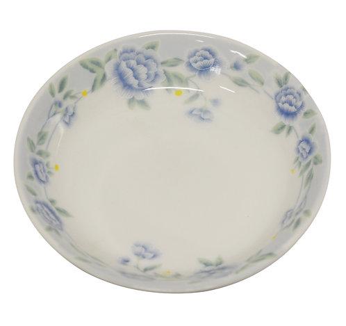 """#802336 SAUCE DISH-BLUE PEONY-3.87"""" 藍牡丹醬料碟"""