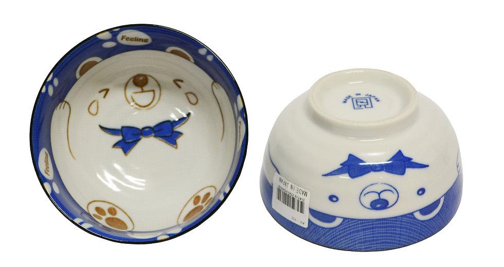 JAPANESE DONBURI BOWL, 4 PCS, ITEM#AE-070, 日本瓷碗 4 個