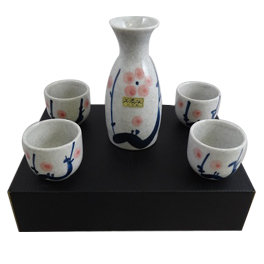 JAPANESE SAKE SET,  ITEM#  AF-002,   日本清酒杯具