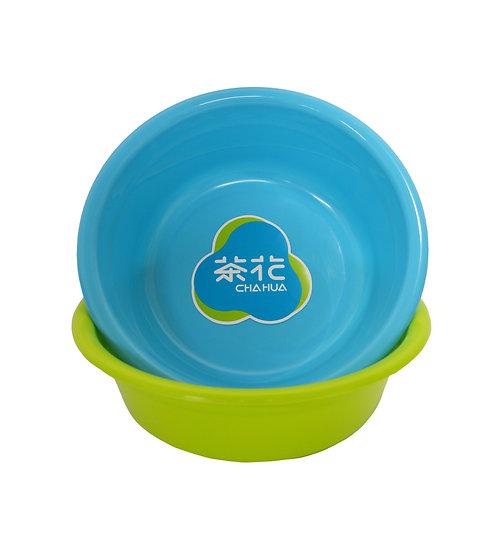 PLASTIC ROUND BASIN, 3.8L(30CM),ITEM#00803401,塑膠盆*2 PCS(RANDOM COLORS)
