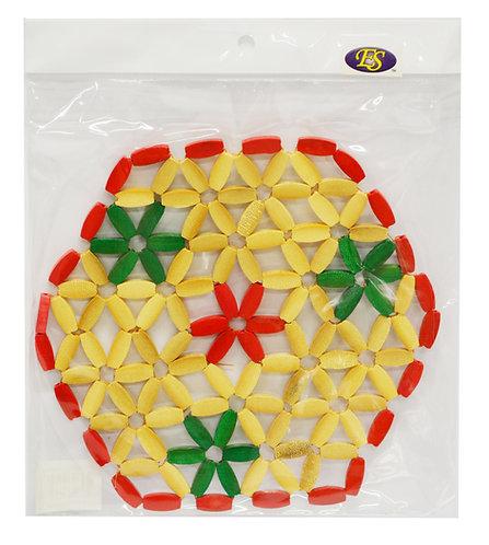 #801808 BAMBOO MAT-SIX ANGLES 竹製桌墊-六角形