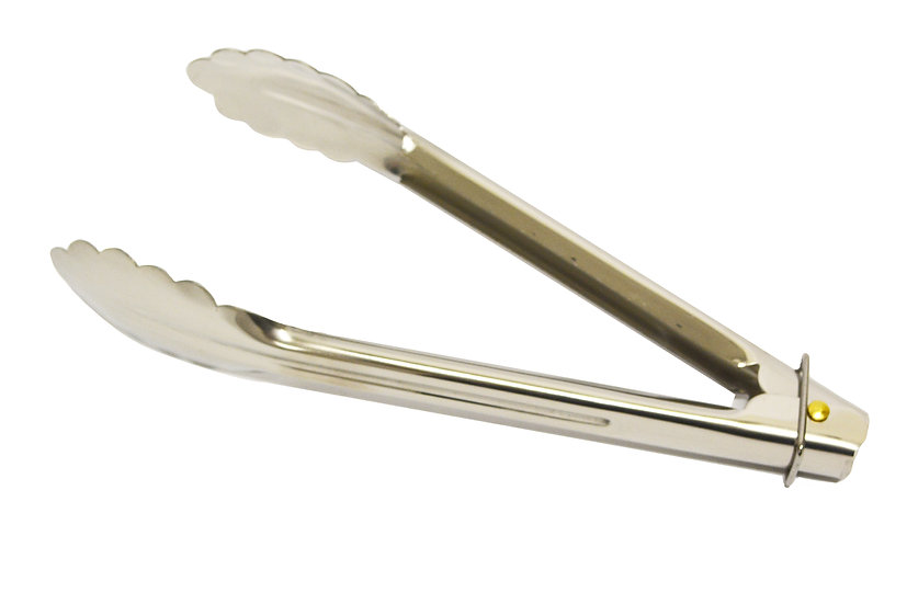 """16"""" HEAVY DUTY STAINLESS STEEL TONG  / KITCHEN TONG, SET OF 2 PCS   不鏽鋼食"""