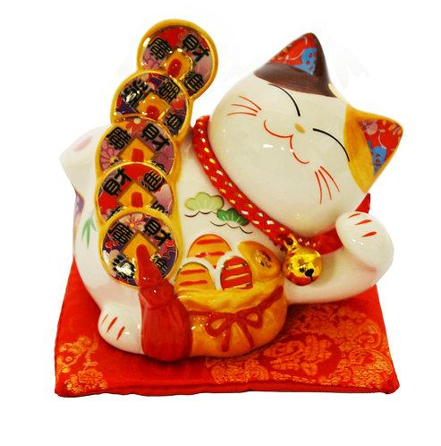 """#808411 LUCKY CAT -3"""" (35312) 招財貓(1 PCS)"""