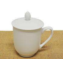 802843-1 White Ceramic Tea Cup