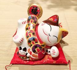 LUCKY CAT & PIGGY BANK 招財貓