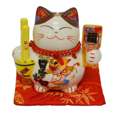"#808413 LUCKY CAT(PIGGY BANK)- 3"" (35314) 招財貓錢罐(1 PCS)"
