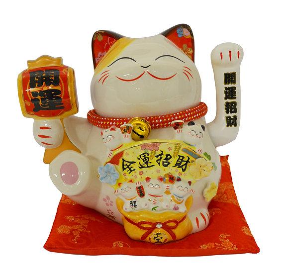 """LUCKY CAT 10""""(35907),ITEM#00808441, 搖手招財貓(1 PCS)"""