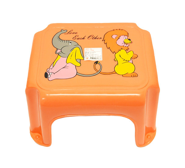 PLASTIC  STOOL,ITEM#00805208,塑膠小朋友椅子/矮凳(1 PCS)
