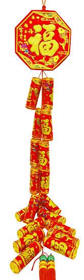 FIRE CRACKER - NEW YEAR DECORATION,ITEM# 00808150, 新年挂飾 -彩金炮