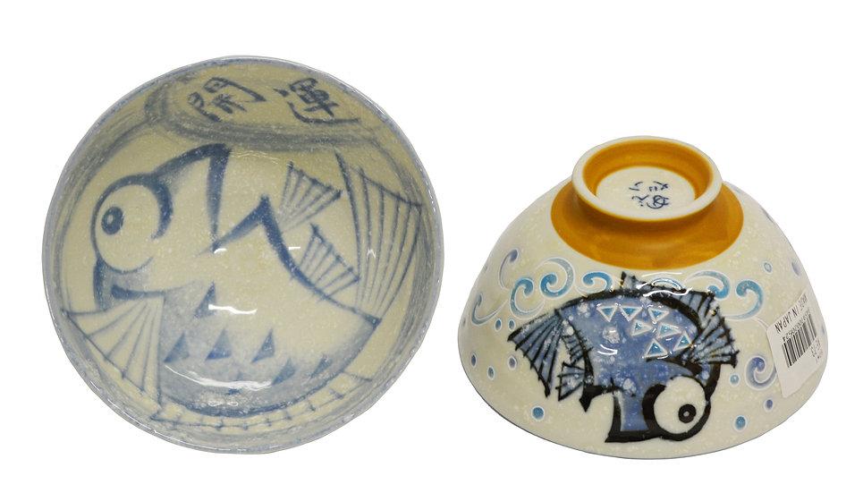 JAPANESE RICE BOWL-L, 4 PCS, ITEM#AE-073, 日本瓷碗/飯碗 4 個