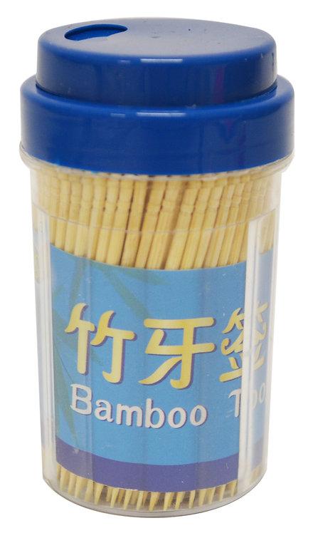 #801890 BAMBOO  TOOTHPICK 300 PCS/1 P 竹牙籤-單尖