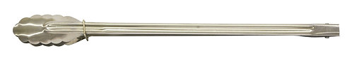 """#801510 STAINLESS STEEL KITCHEN TONG -16""""不鏽鋼食物夾"""