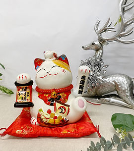 LUCKY CAT -IHOME
