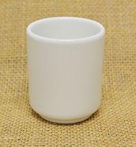 802856-1 White Ceramic Tea Cup