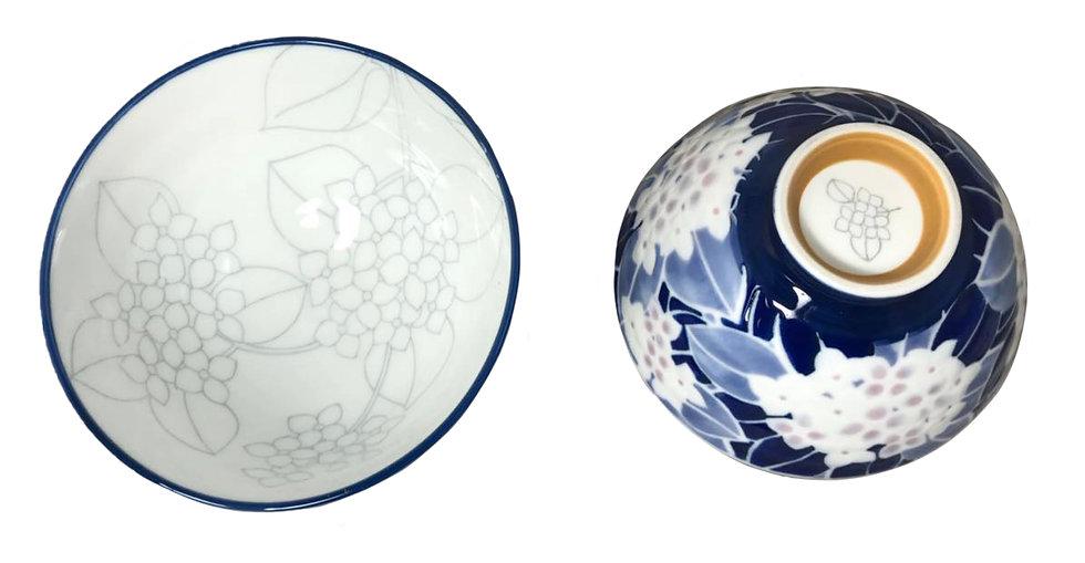 """5"""" JAPANESE DONBURI BOWL,ITEM# AG-031,日本瓷碗(5 PCS)"""