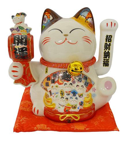 """#808450 LUCKY CAT-14""""(35126)  招財貓 (1 PCS)"""