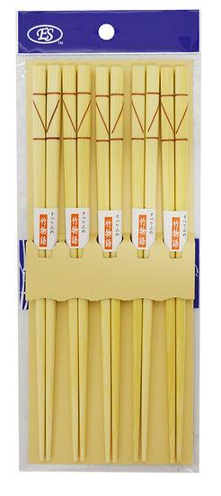 JAPANESE BAMBOO CHOPSTICKS,ITEM#00801836, 日本竹筷(5 PAIRS/PACK)
