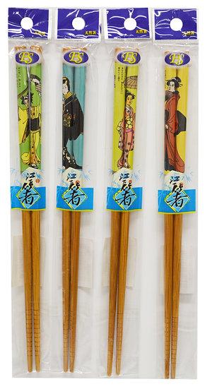 BAMBOO CHOPSTICKS, ITEM# 801963, 天然竹筷 10 PAIRS