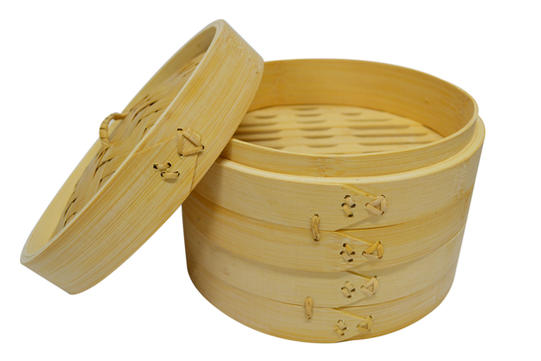 801881 BAMBOO STEAMER 3 LAYERS