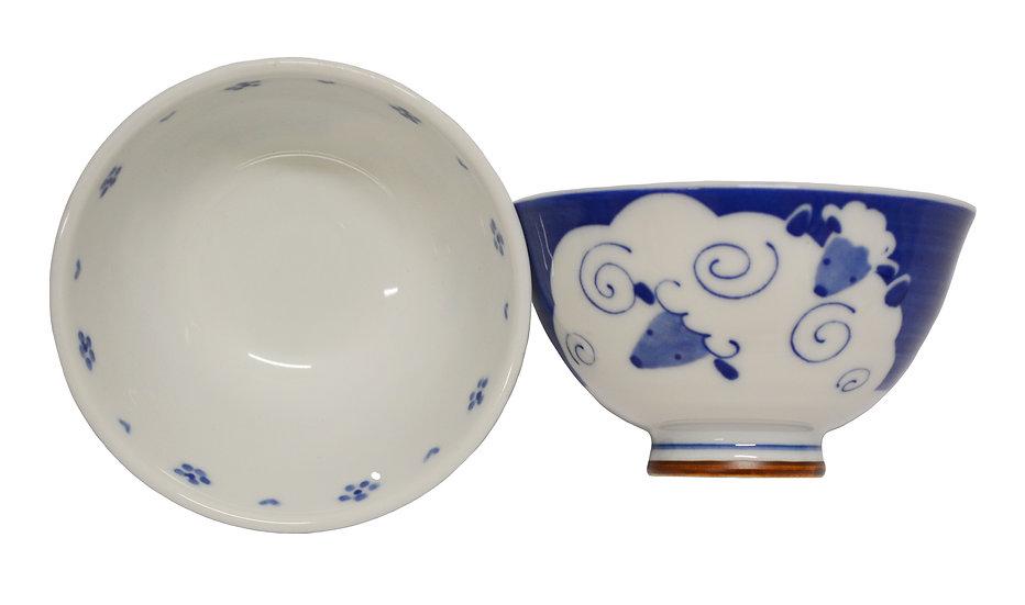 JAPANESE ETO RICE  BOWL ,ITEM#AG-008,日本瓷碗(4 PCS)