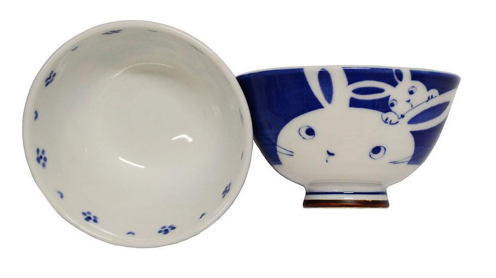 JAPANESE ETO RICE  BOWL , ITEM#AG-004, 日本瓷碗 (4 PCS)