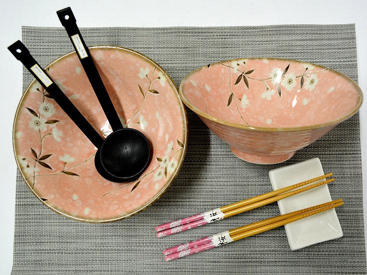 7-PIECES JAPANESE BOWLS COLLECTION/RAMEN NOODLE BOWLS, ITEM# AH030-7-1, 日本瓷碗套裝組合