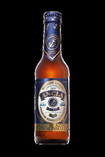 Cerveza Ancla Rubia Pilsner de Bohemia