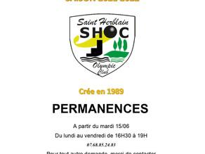 Licences Saison 2021-2022