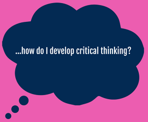 Design Thinking; a tool for critical thought