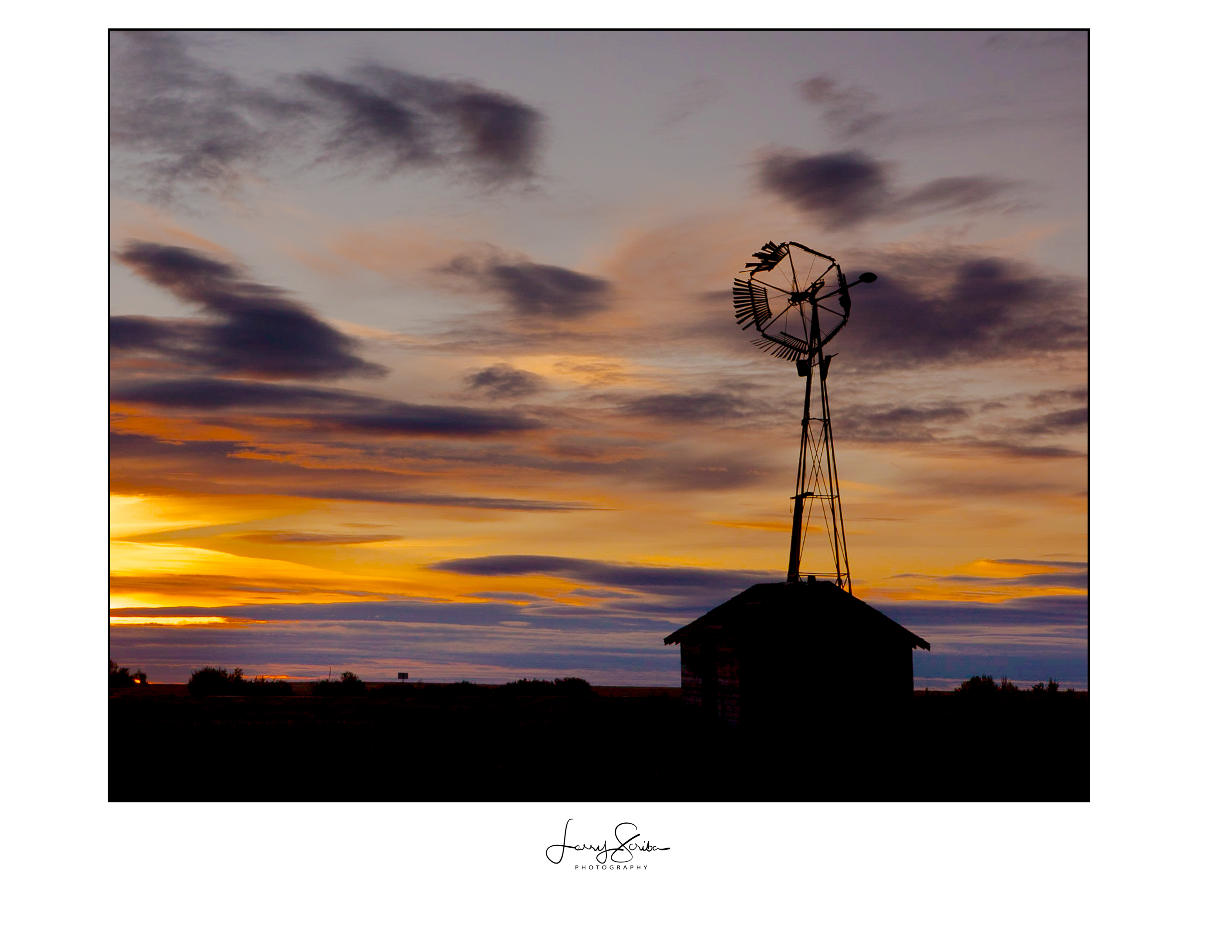 Buffalo Lakes Windmill