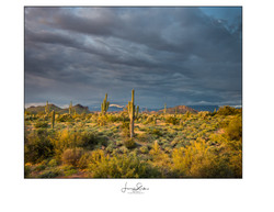 Superstition Sunset & Clouds