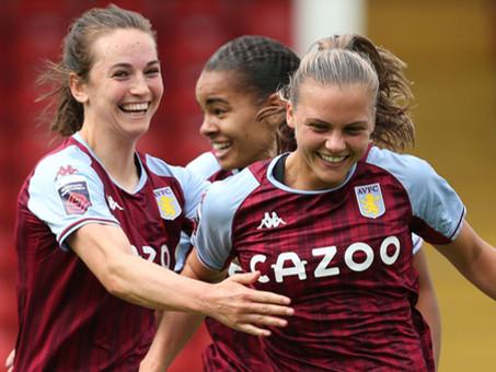 WSL GW1: Aston Villa 2-1 Leicester City