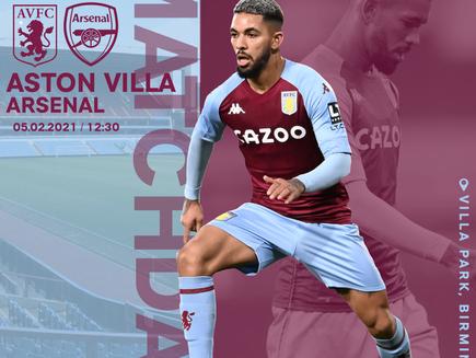 Villa play The GUNNERS!