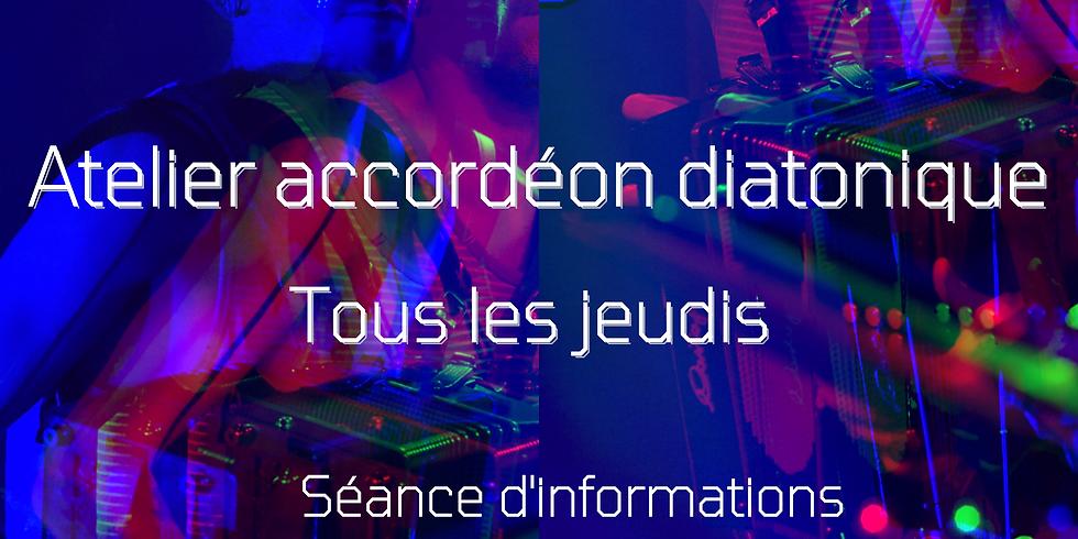 Séance d'informations - Atelier accordéon diatonique