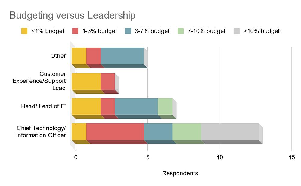 IT Budgeting versus Leadership report