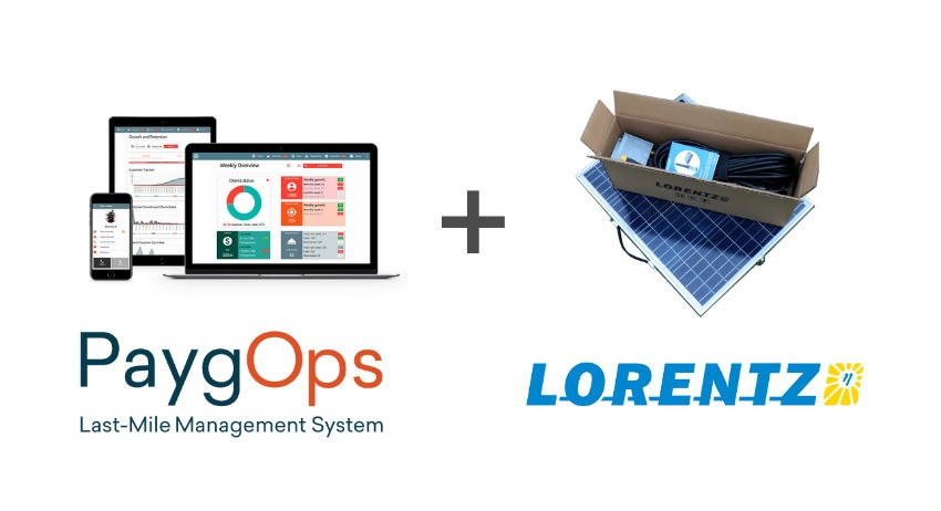 Lorentz solar pumps paygo-enabled with PaygOps